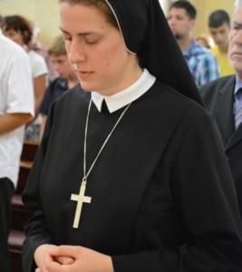 časna setra redovnica duhovni poziv