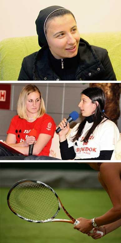 Časna sestra tenisačica